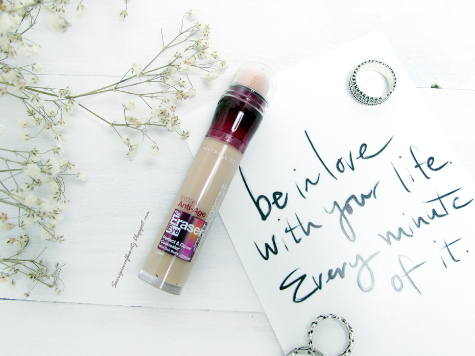 Консилер Instant Anti-Age The Eraser Eye Perfect & Cover Concealer от Maybelline / блог A piece of beauty