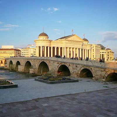 Puente de Piedra de Skopje