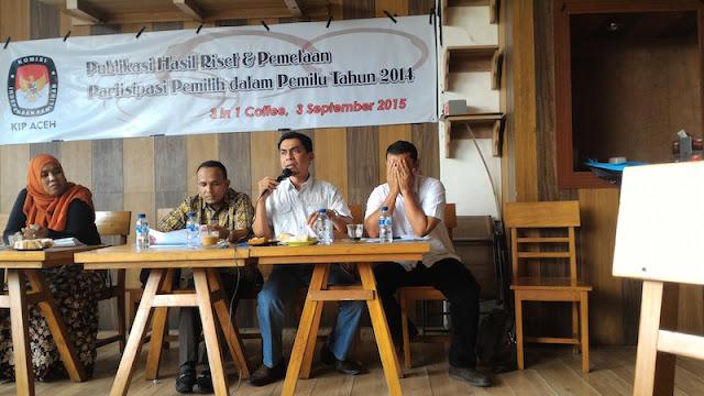 Politik Uang Masih Rentan Terjadi Pada Pesta Demokrasi di Aceh