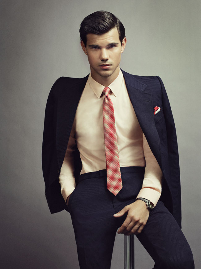 lautner cover Taylor gq