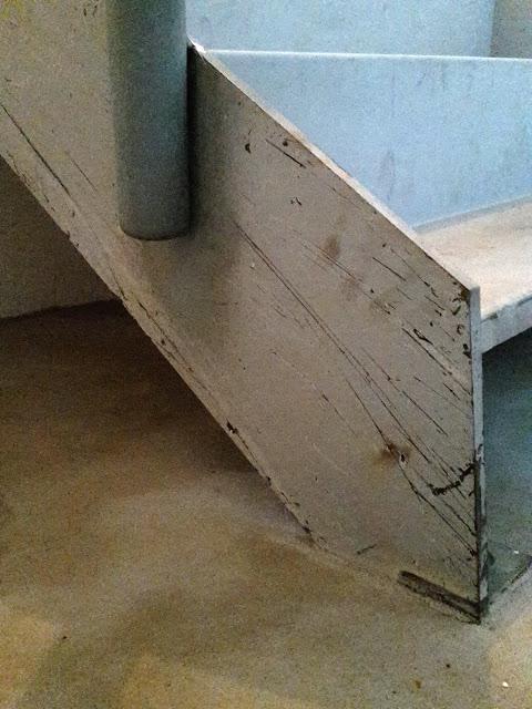 scala in acciaio iron stair