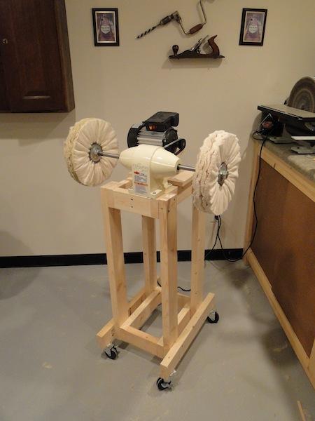 scott 39 s workshop notes archtop guitar build buffing. Black Bedroom Furniture Sets. Home Design Ideas