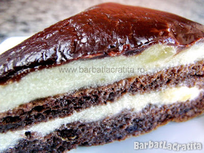 Felie de tort krem a la krem (imaginea retetei)