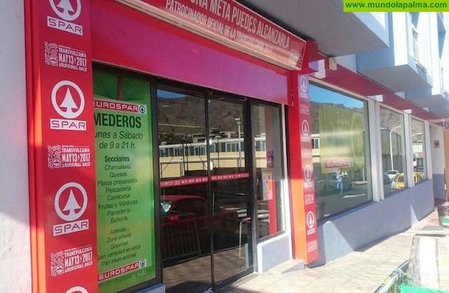 El Spar La Palma retira sus carros y cestas de sus establecimientos para evitar el contagio del coronavirus