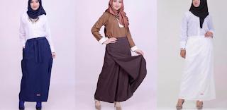 model atasan rok muslim