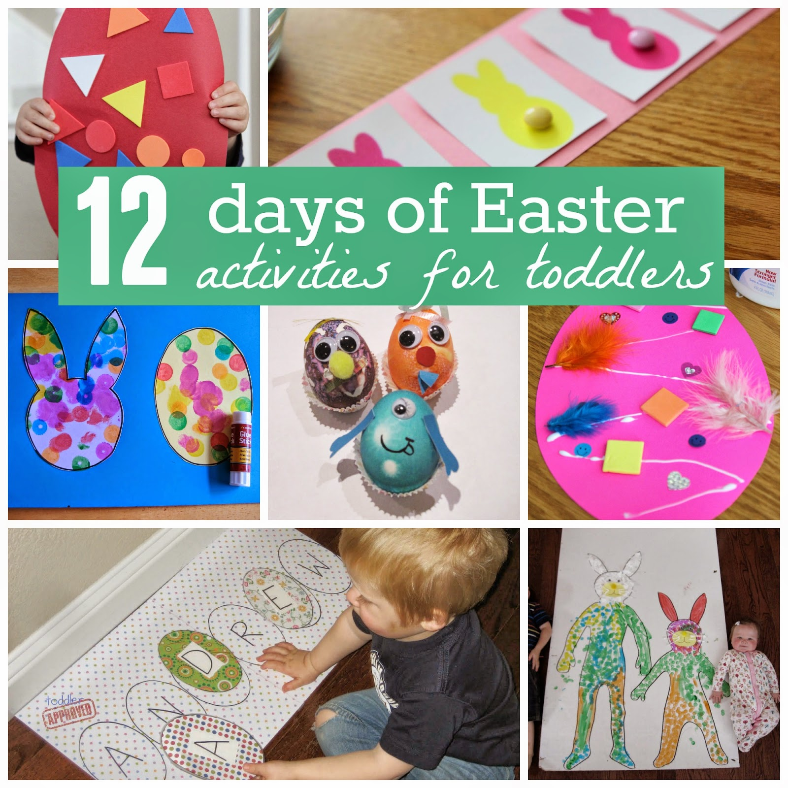 Toddler Approved!: A Very Toddler Easter {12 Days Of