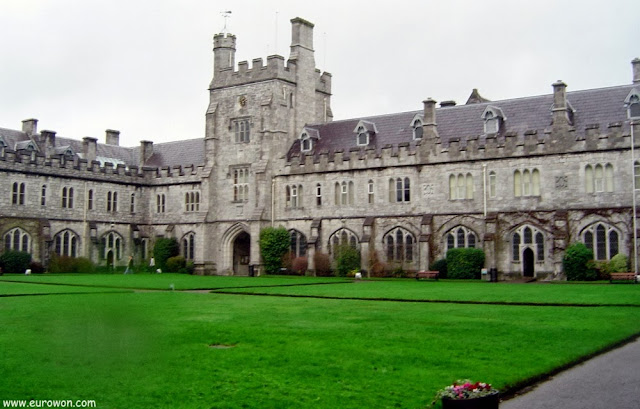 Campus de la Universidad de Cork en Irlanda