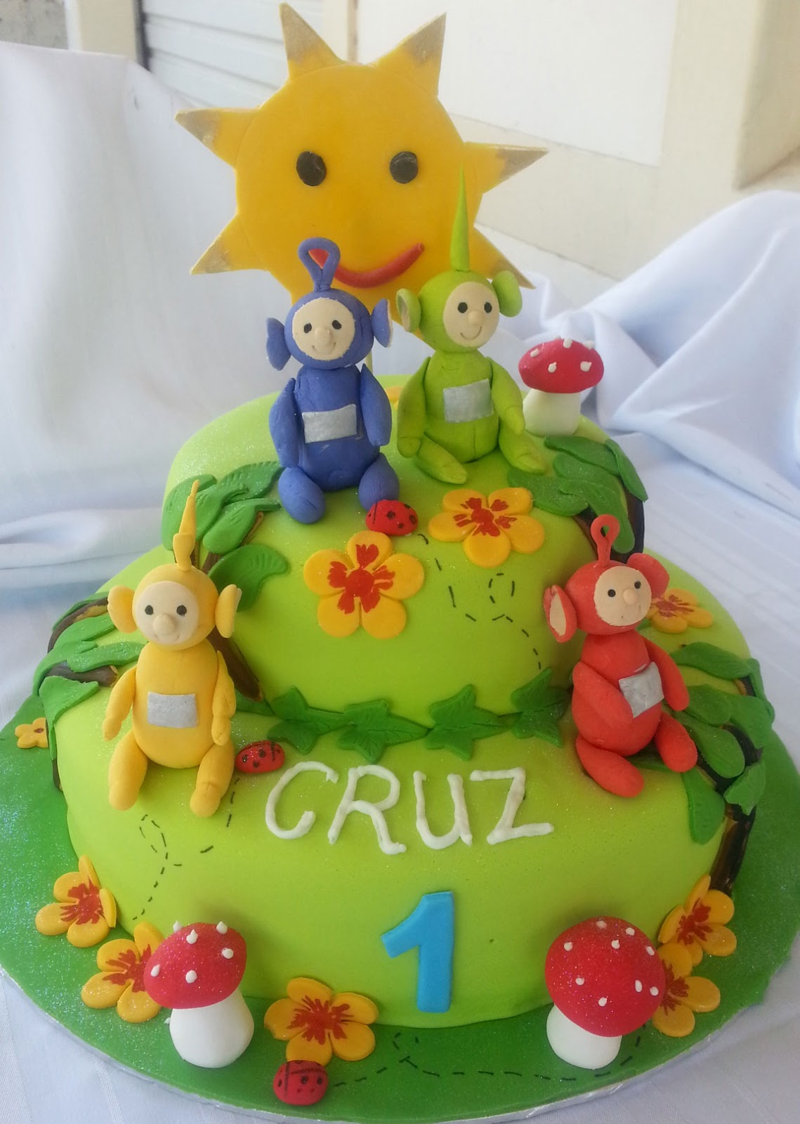 Lulu Belle Cakes Teletubbies Cake