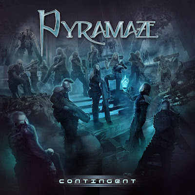 Pyramaze - Contingent (2017) Album Artwork