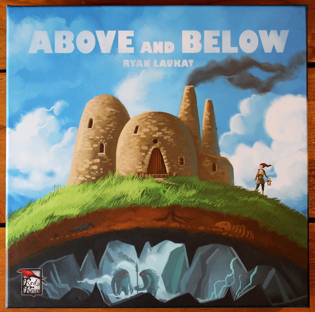 Above and Below - box art