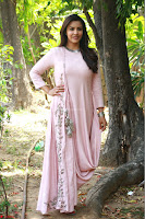Priya Anand in simply Pink at an interview for movie KOOTATHIL ORUTHAN~  Exclusive celebrities galleries 017.jpg