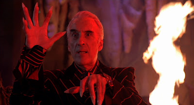 Christopher Lee is Mr. Sender