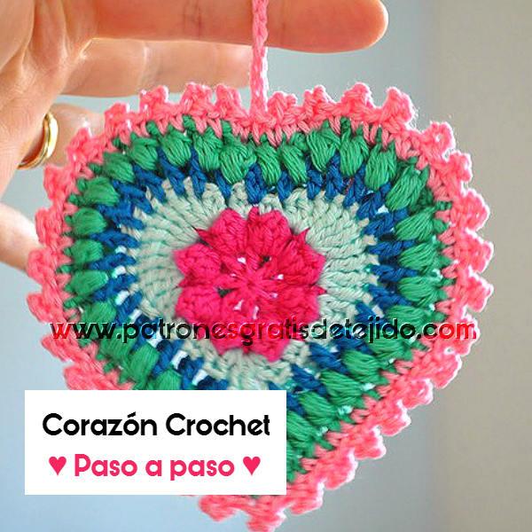 como-tejer-corazón-crochet
