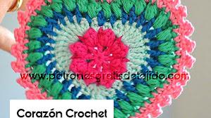Corazón Adorable para Tejer a Crochet / Paso a paso