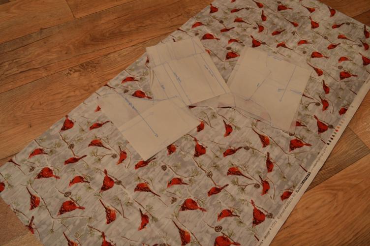 blogmas, georgiana quaint, christmas outfit, sewing dress, japanese lolita, vánoční večítek, vánoční šaty, lolita