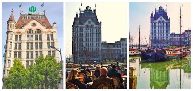 Witte Huis en Rotterdam – Terrazas en el antiguo puerto de Rotterdam Oude Haven