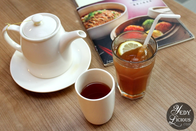 Unlimited Iced and Hot Tea at Dim Sum Buffet at Crystal Jade Greenhills