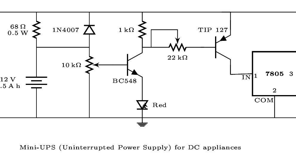 Technical Musings: Drawing Circuit diagrams in LaTeX