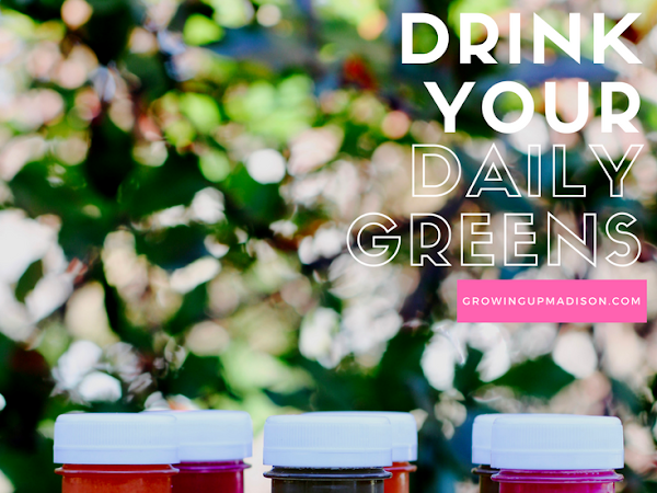 Drink Your Daily Greens - #HalfPint
