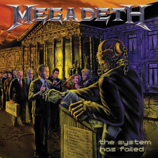 Rock...todo a 320.: Megadeth - The System Has Failed