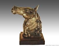 horse art, clay art, horse sculpture