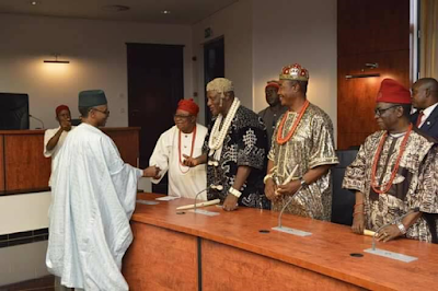 1D - Igbo Quit Notice: Kaduna state governor, Nasir El-Rufai meets Igbo leaders from 19 Northern states (photos)