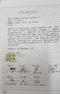 bukti surat pernyataan yang dibuat Sutiyoso diduga rawan rekayasa