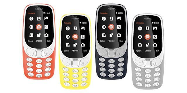 Nokia 3310 Versi Baru 2017