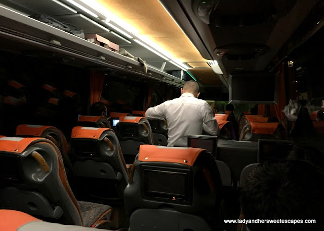 Suha Turizm Cappadocia-Pamukkale night bus