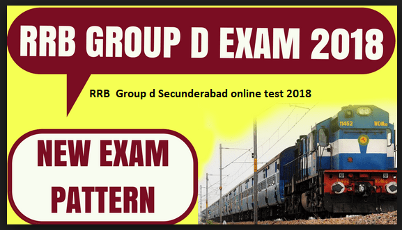 {RRB GROUPD } RRB  Group d Secunderabad online test 2018