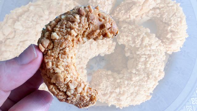 #recette #recipe #video #patisserie #pastry #gateaux #petitsfours #cacahuete #fleurdoranger #oriental