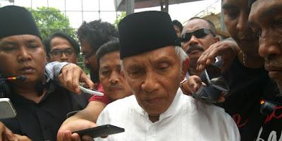 Amien Rais: Pak Jokowi, NKRI Bisa Bubar!