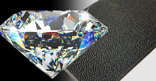 Mais duro que diamante e flexível como borracha - novo material incrível é descoberto por pesquisadores