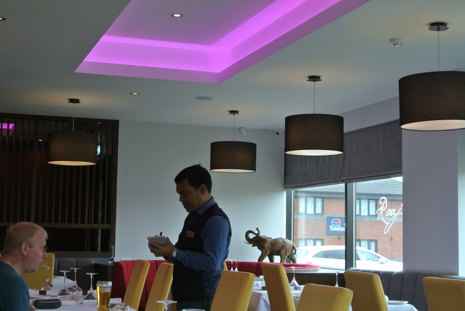 Le Raaj indian restaurant curry house in Sedgefield Teeside North East