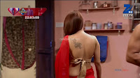 Sha Ajmani aka Garima AjmaniRed saree and Backless Choli Flower Tattoo .xyz.jpg