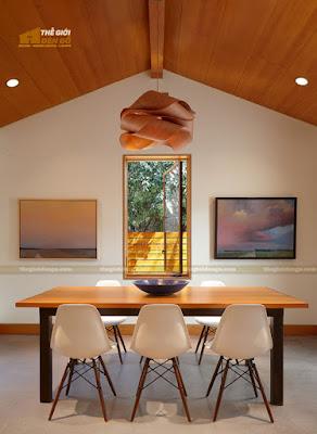 Thế Giới Đèn Gỗ - 8 mẫu đèn trang trí gỗ cho phòng ăn đẹp lung linh 23