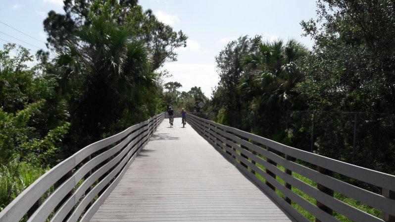 Boardwalk in Linear Park