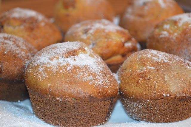 Jam Doughnut Muffins from The Cook & Enjoy Baking Book