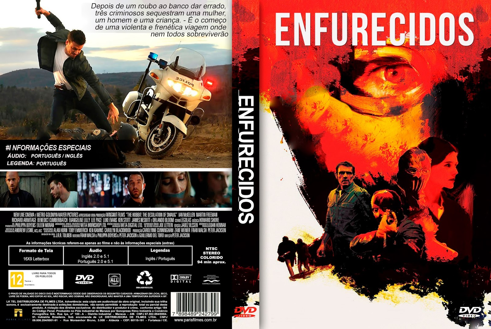 Enfurecidos (2016) Torrent Dublado Download – BDRip Dual Áudio