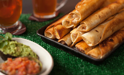 http://www.epicurious.com/archive/holidays/superbowl/chefrecipeschickentaquitos