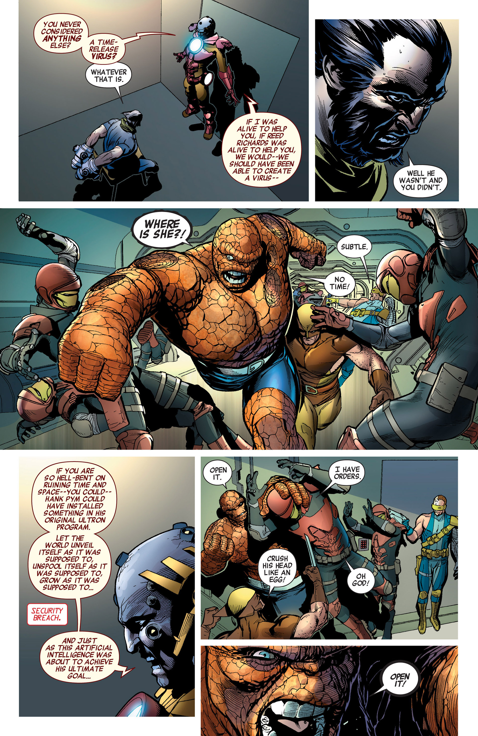 Read online Age of Ultron comic -  Issue #8 - 11