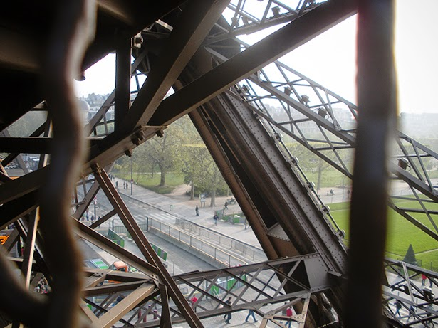 Climbing the Eiffel Tower