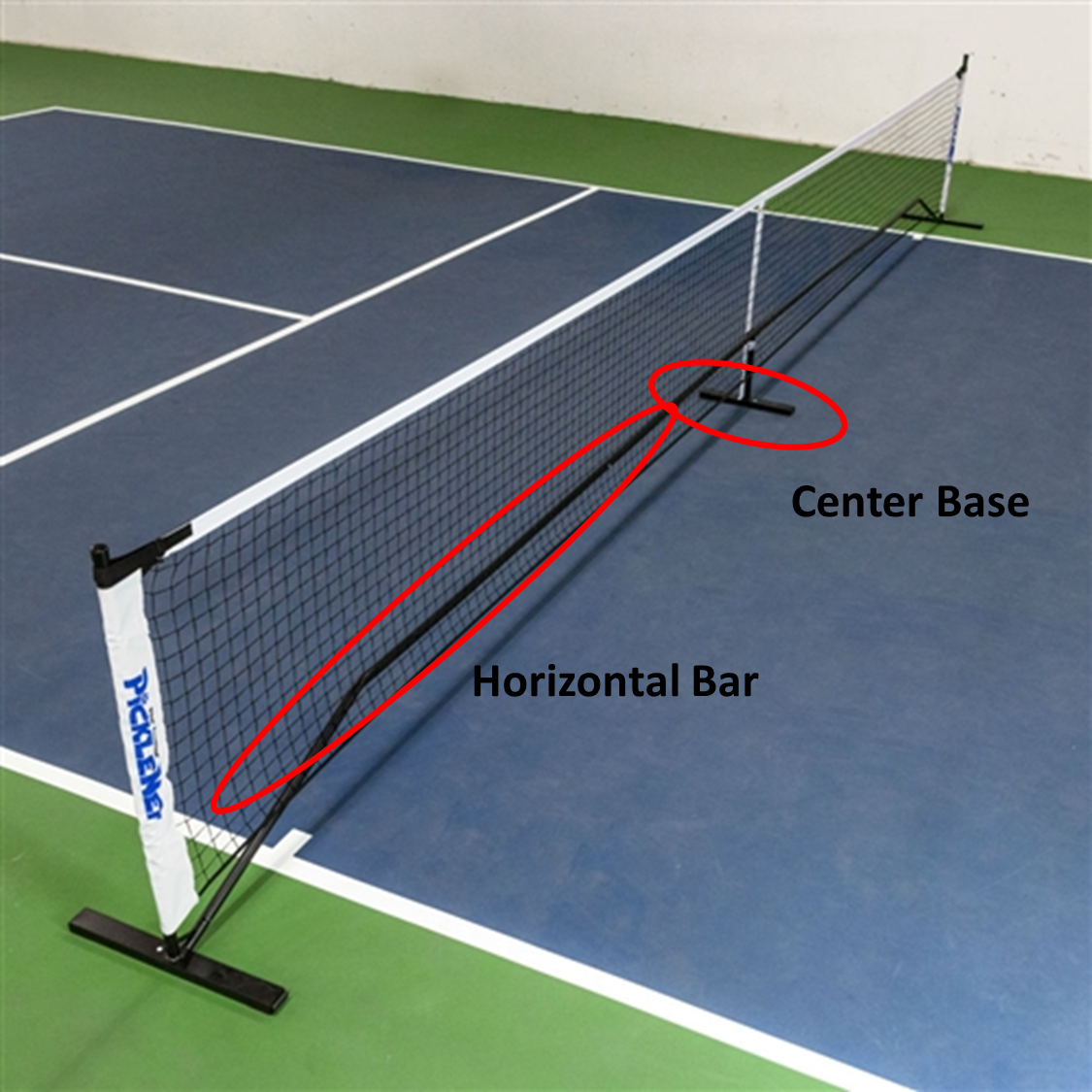 A Pickleball Life Rules Clarification Temporary Net Frames
