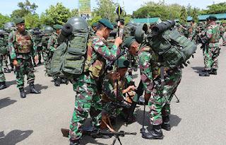 Pangdam IM Lakukan Sidak Yonif 112 Raider Untuk Cek Kesiapan Prajurit - Commando
