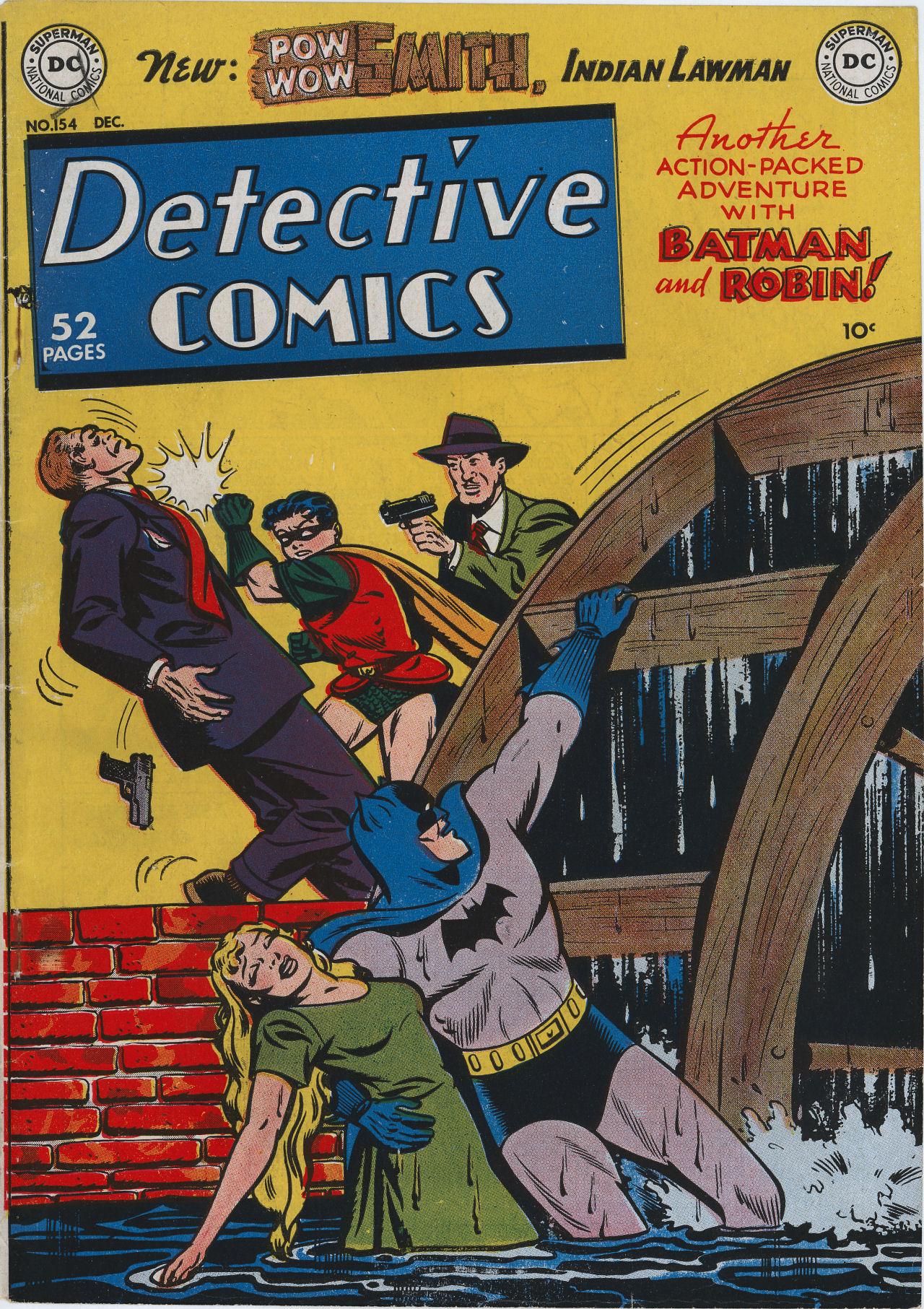 Read online Detective Comics (1937) comic -  Issue #154 - 1