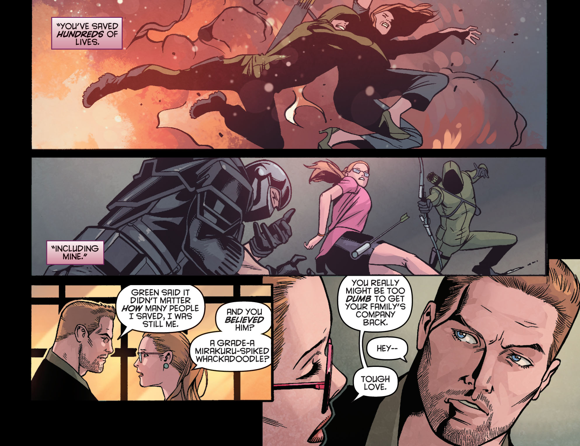Read online Arrow: Season 2.5 [I] comic -  Issue #23 - 16