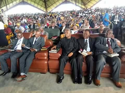 [PHOTOS] Pastor Williams Kumuyi In Ogoniland in Rivers State
