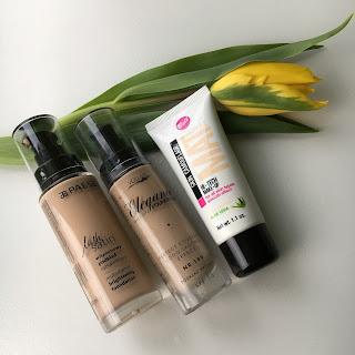 3 produkty, czyli mini recenzje, dziś podkłady z Bell, Paese oraz Vollare.