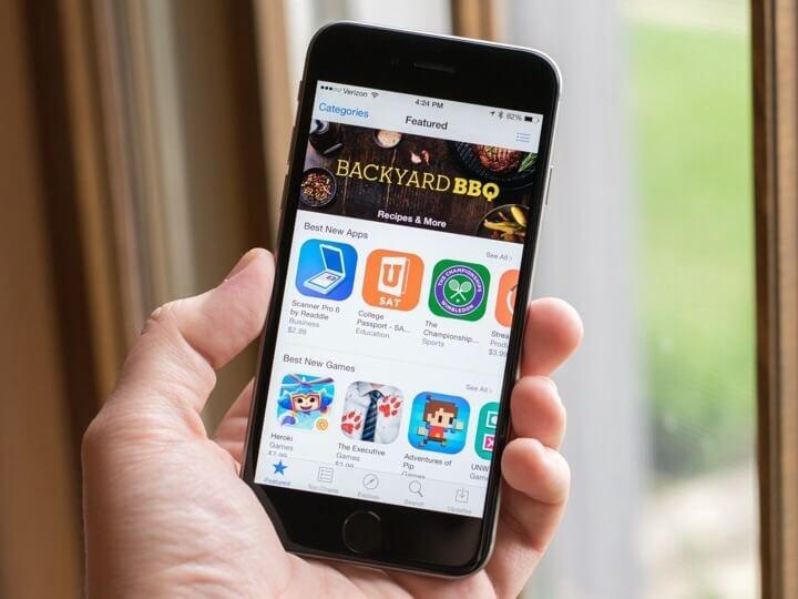 AppStore iOS 10 di iPhone 6S