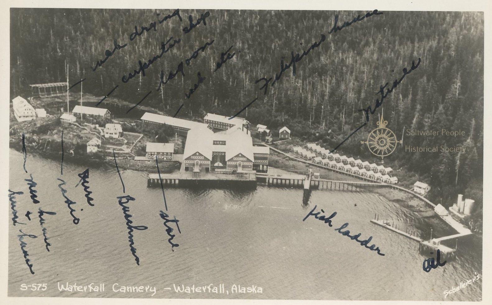 Saltwater People Log: ❖ WATERFALL CANNERY ❖ ALASKA